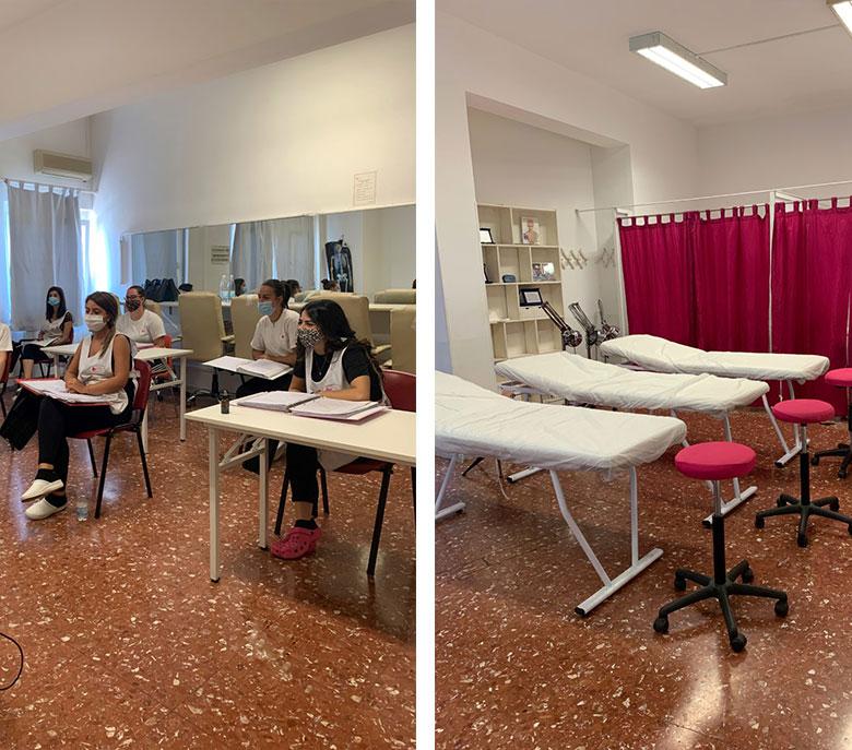 centro-estetico-velletri-lezioni-aule-corsi-lettini